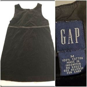 Gap Black Velvet Touch Girl's Dress